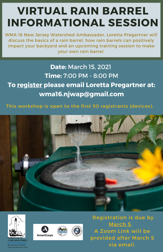 Rain Barrel informational Session Flyer RESIZe